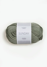 Sunday, Sandnes Garn Sunday, Dusty Light Green 8521, Sunday Petit knit, Petit Knit yarn, Sandnes in USA