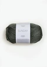 Sandnes Garn Sunday, Sunday Petit Knit, Dusty Olive Green 9071, Sandnes Garn in USA