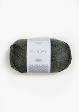 Sandnes Garn Sunday, Sunday Petit Knit, Dusty Olive Green 9071, Sandnes Garn in USA