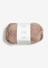 Line Cafe Au Lait 3042, Sandnes Garn Line, Sandnes Garn in USA, Sandnes Garn Norwegian Made yarn