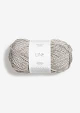 Line Pearl Grey 3820, Line Perle Grå, Sandnes Garn in USA, Sandnes Garn, Norwegian made yarn