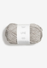 Line Pearl Grey 3820, Line Perle Grå, Sandnes Garn in USA, Sandnes Garn, Norwegian made yarn