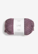 Line Light Aubergine 4361, Line Sandnes Garn, Sandnes Garn in USA, Norwegian Made yarn, Anker Sweater