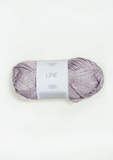 Line 4620 Light Purple, Lys Syrin Sandnes Garn Line, Sandnes Garn in USA, Norwegian Made yarn, Anker Sweater yarn