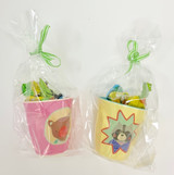 Candy Cups, Boy and Girl Camper cups, cups filled with Candy, Easter cups, Easter basket fillers, Easter basket
