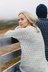 Ånund Sweater from Tiril Eckhoff and Sandnes Garn, Sandnes Garn Kos Sweater Kit, Knitting kit, Knitting Sweater Kit, Intermediate Knitting kit, Unisex sweater kit, Sandnes Garn in USA