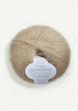 Tynn Silk Mohair, Light Beige, 3021, Sandnes Garn in USA, Sandnes Garn, Norwegian Yarn from Sandnes Garn, Sandnes Garn in Bay Area California