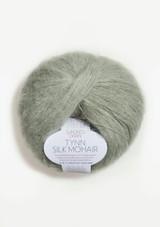 Tynn Silk Mohair Dusty Light Green 8521,  Sandnes Garn, Sandnes Garn in USA, Sandnes Garn Norwegian Made yarn
