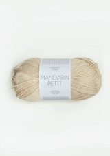 Mandarin Petit, Almond 3011, Sandnes Garn, Mandarin Petit  from Sandnes Garn, 100% cotton yarn from Sandnes Garn, Sandnes Garn in USA
