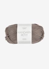 Mandarin Petit Linnen Brown 3870 , Sandnes Garn in USA, Sandnes Garn 100% cotton yarn, Norwegian Yarn