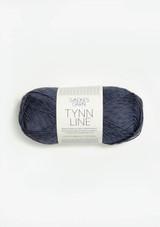 Tynn Line, Dark Blue Grey 6061,  Sandnes Garn in USA,  Sandnes Garn Norwegian Made yarn