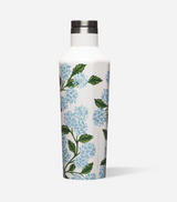 Canteen Rifle Paper Co. Corkcicle, Hydrangea print