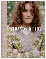Strands Of Joy Hardbound knitting book, Pattern Book from Laine Magazine, Strands of Joy Laine Magazine and Anna Johanna