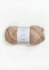 Kos Light Beige 3532, Sandnes Garn, Norwegian Made yarn, Sandnes Garn in USA