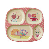 Kids 4 Room Plate, Girl Camper print