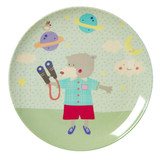 Kids Lunch plate, Boy Camp