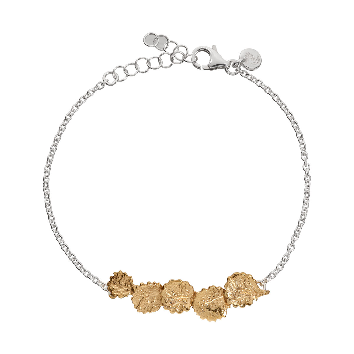 Løv Bracelet Gold plated
