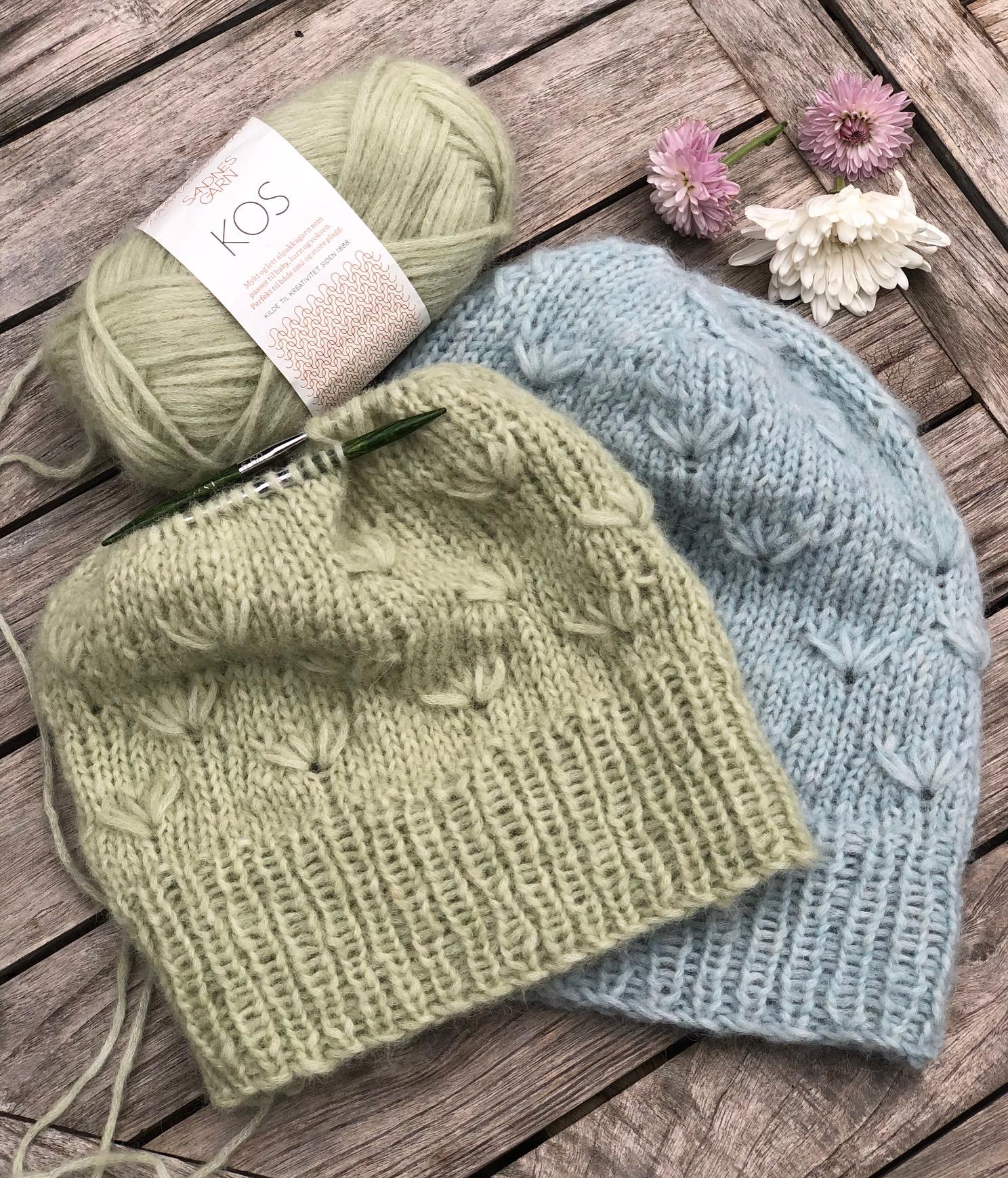 Knitting Class, Dandelion Hat, Sandnes Garn