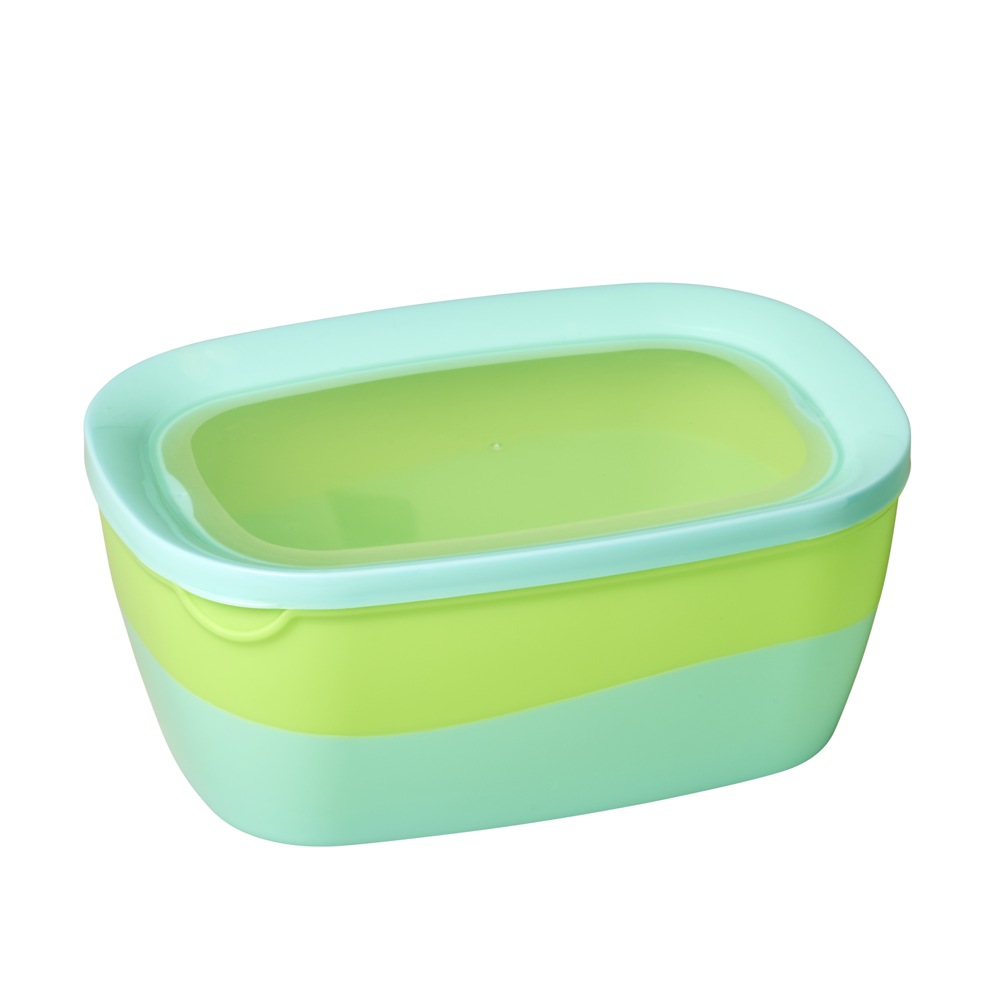 Food boxes set of 3 in blue green colors from Rice