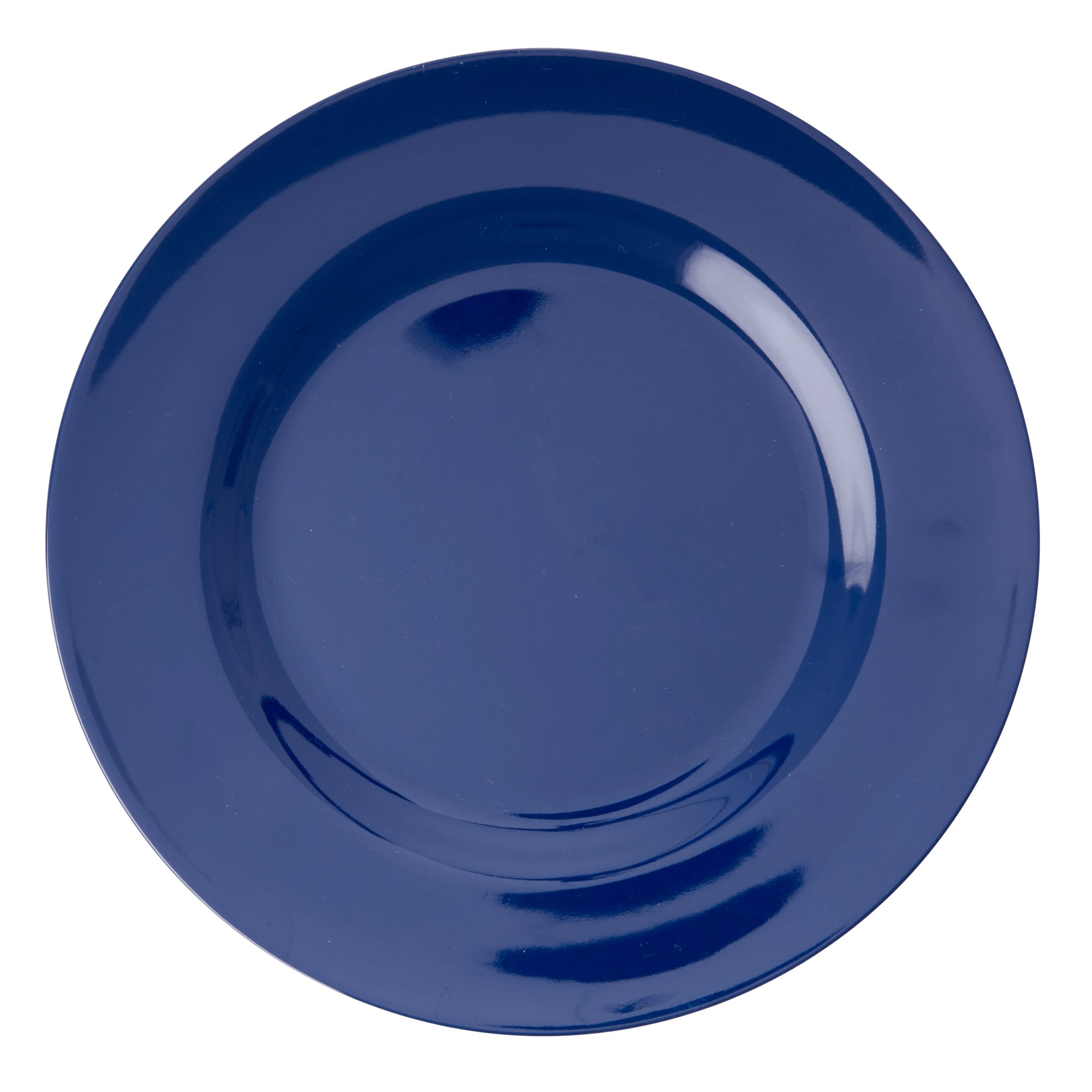 Melamine Solid colored Dinner plate in Navy Blue