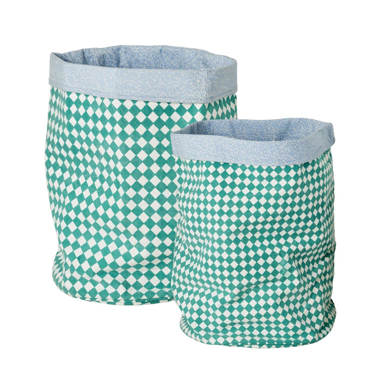 Kids Fabric storage, set of 2