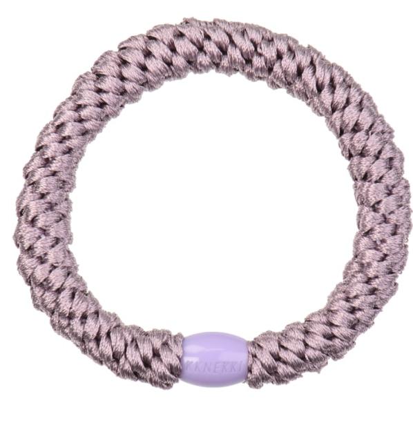 Kknekki Pearl Lavender hair tie from Bon Dep in Norway
