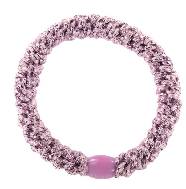 Kknekki Pink Glitter, hair ties from Bon Dep in Norway