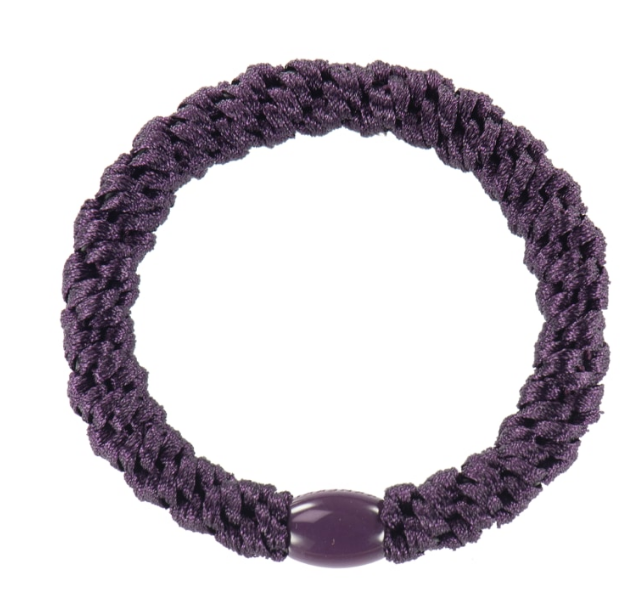 Kknekki Dark Purple, Hair ties from Bon Dep in Norway