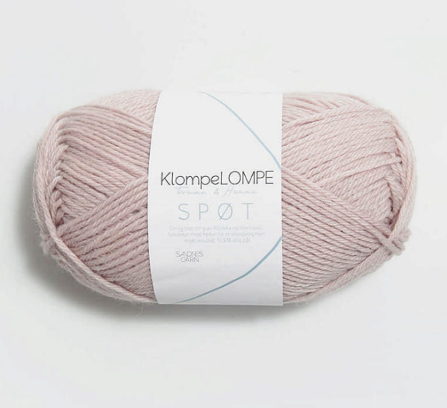Spot, Spøt, Summer Pink 4011, Sandnes Garn from Norway, Klompe Lompe yarn from Norway