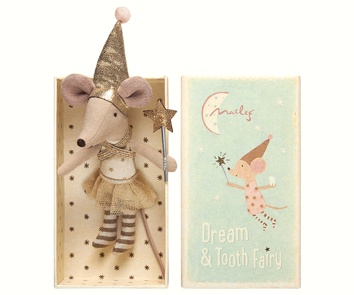 Tooth Fairy with Match Box, Maileg