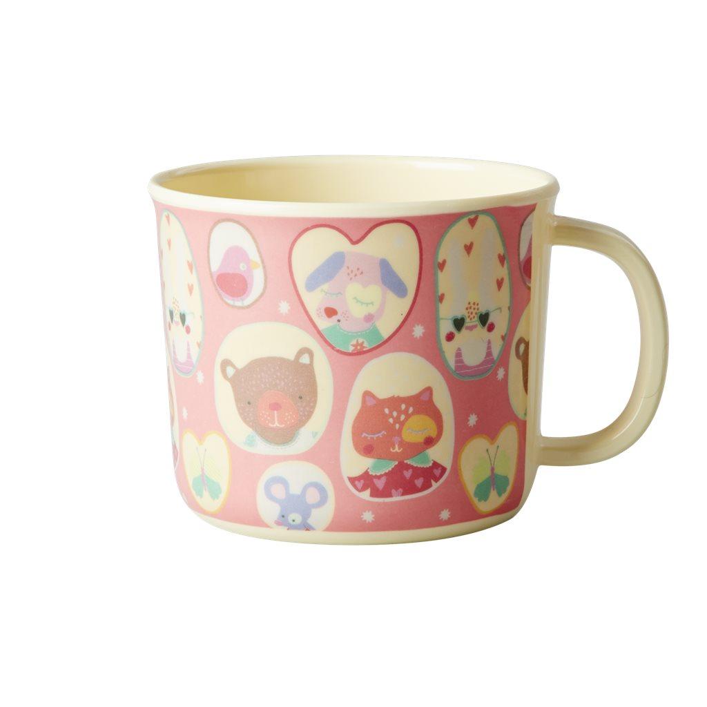 Baby Melamine Cup, Girl Camper
