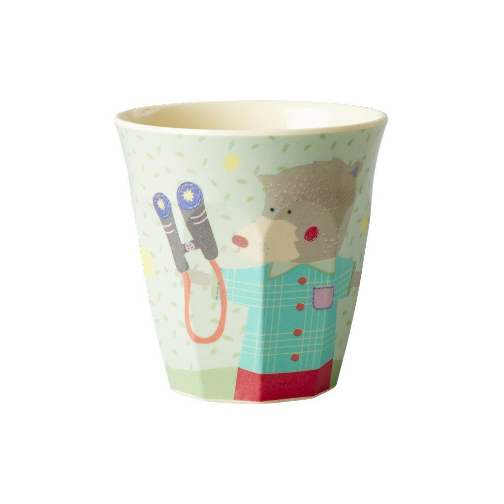 Kids Melamine Cup with Camper Print