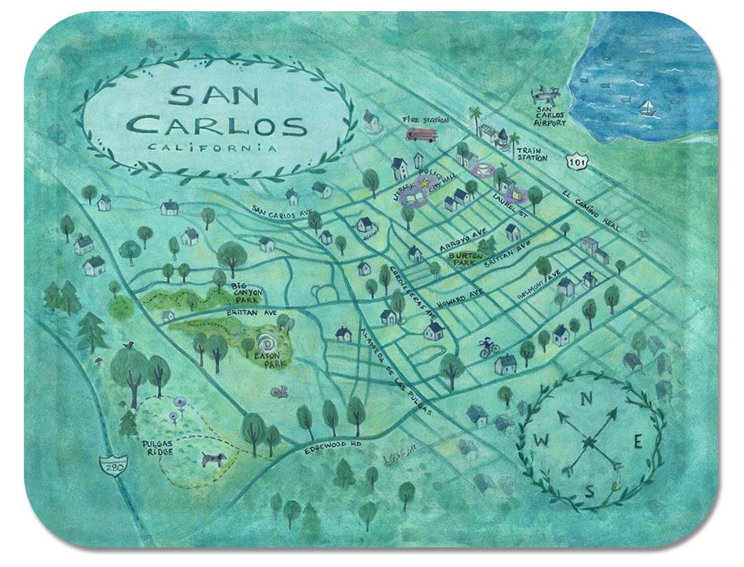 San Carlos Tray