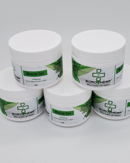 CBD Muscle Gel Full Spectrum