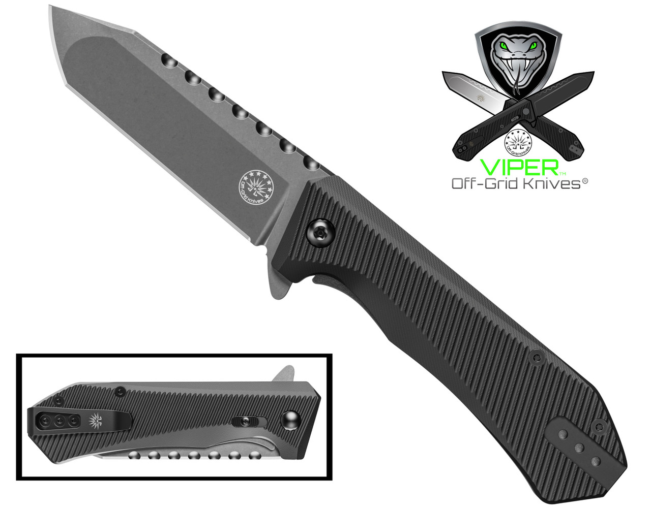 Viper Blackout EDC Knife