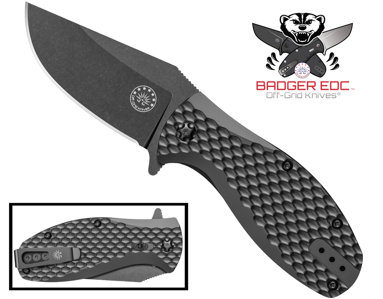 Badger Blackout EDC Knife