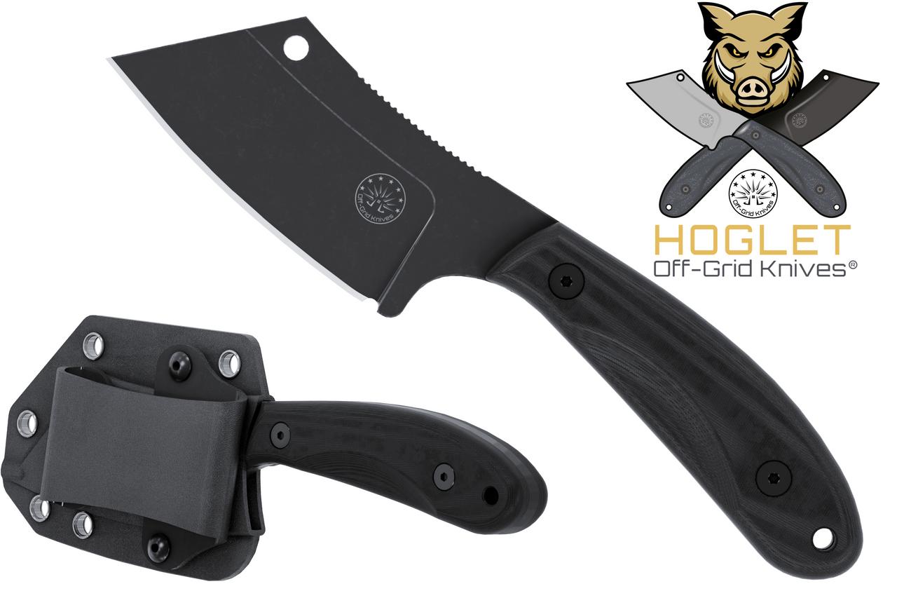 Cleaver Hoglet Blackwash Fixed Blade Knife