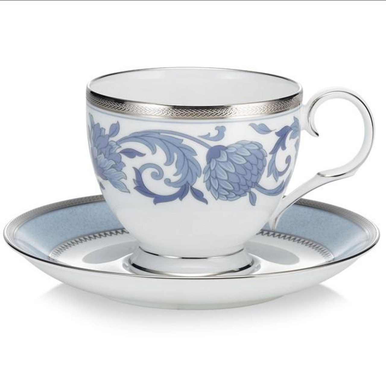 4893 P50788 In Gift Box Cup Saucer Pair By Noritake