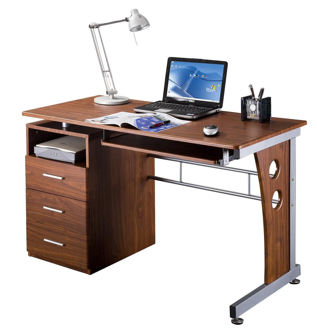 Techni Mobili Computer Desk With Storage Rta 3520 M615