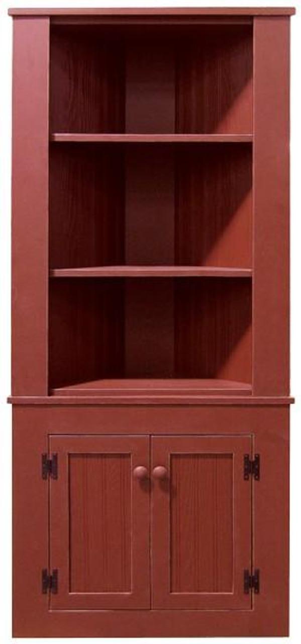 108 Sawdust Corner Hutch Cabinet