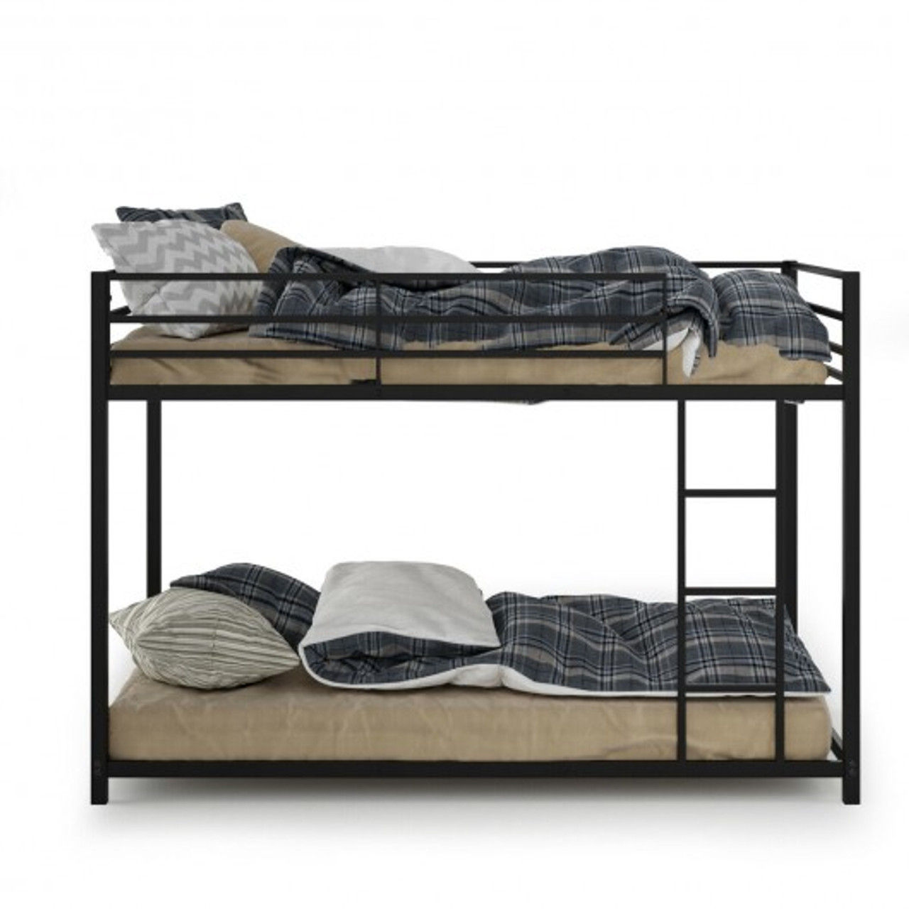 Hw65778 Metal Bunk Bed Twin Over Classic Frame