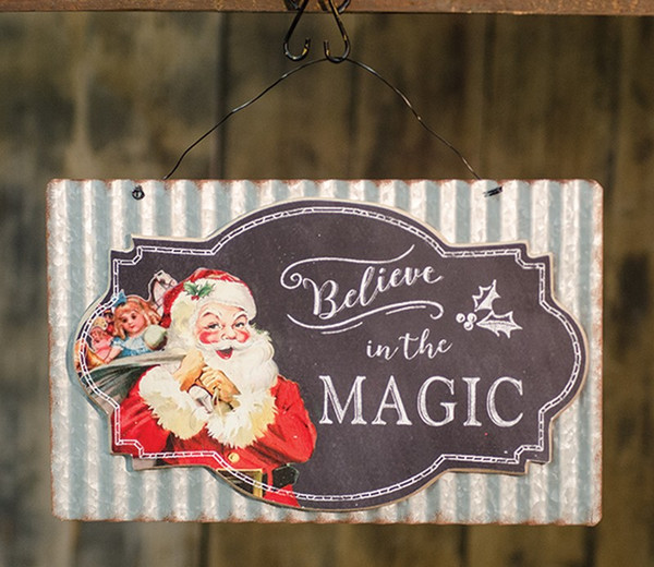Believe In The Magic Sign G90197 By CWI Gifts