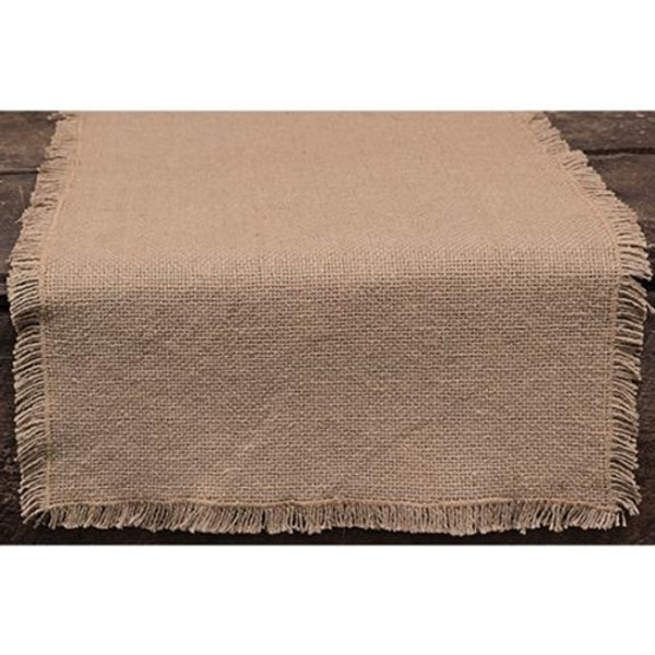 """Burlap Runner, 48"""" (Pack Of 2) G9551 By CWI Gifts"""