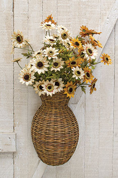 Willow Wall Basket GBW8918 By CWI Gifts