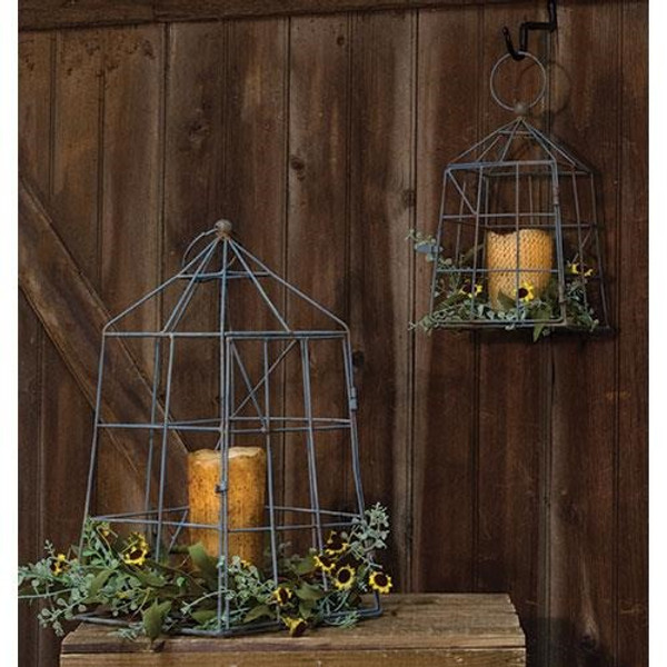 2/Set, Open Air Lanterns GQC92524 By CWI Gifts