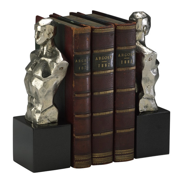 Cyan Hercules Bookends 01895