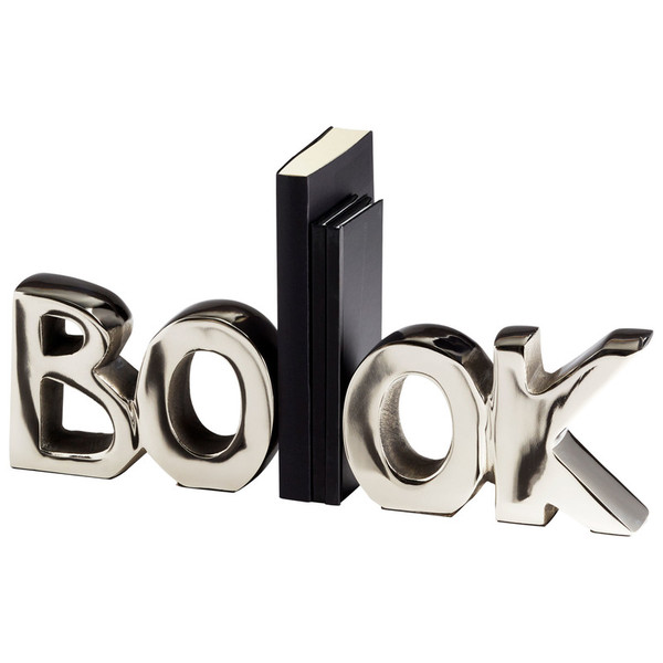 Cyan The Book Bookends 08944