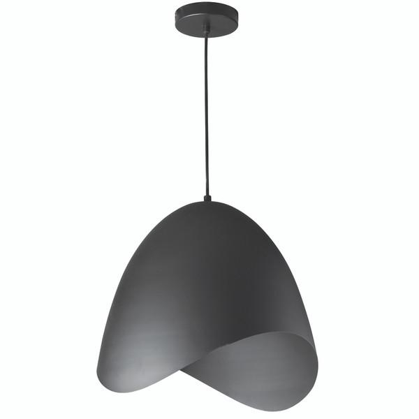 1 Light Pendant, Black Finish MYR-241P-BK By Dainolite