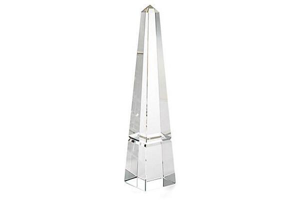 APL597 Crystal Groove Base Obelisk (Pack of 2) by Dessau Home