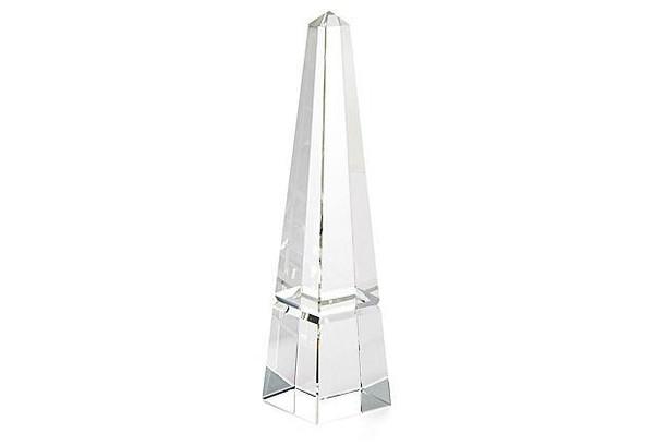 APL598 Crystal Groove Base Obelisk (Pack of 2) by Dessau Home